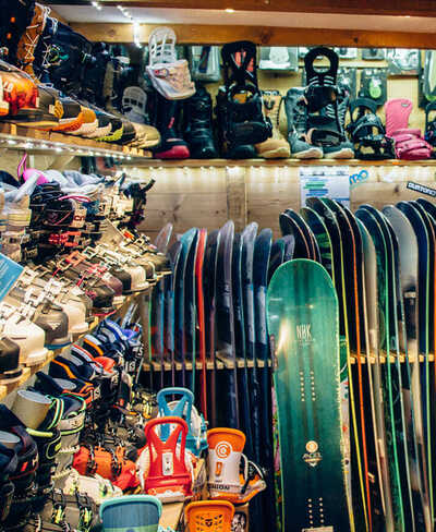 חנות ציוד סקי וסנואובורד